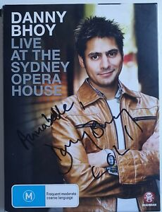 Danny Bhoy Live At The Sydney Opera House DVD Autographed Signed Cat No. MMA2630