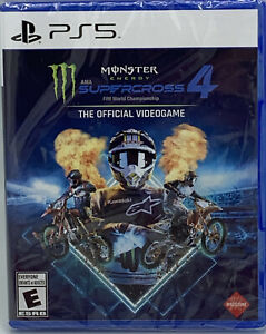 Monster Energy Supercross 4 Sony PlayStation 5 2021 PS5 FREE SHIPPING