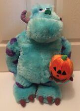 "Large 20"" Disney Pixar Monster Inc Sully Plush Stuffed Toys Pumpkin Halloween"