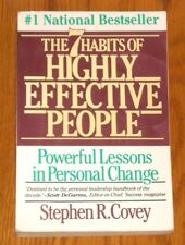 The Seven Habits of Highly Effective People by Stephen R. Covey (1990, PB) #1 NY
