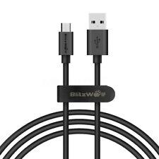 BlitzWolf 2.4A Réversible Micro USB Rapide Chargeur Data Sync Câble Pour Mobile