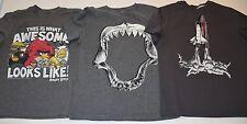 t-shirts lot Hanna Andersson rocket Gap Kids Shark Old Navy angry birds boy 8 10