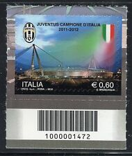 ITALIA 2012 JUVENTUS/FOOTBALL/SOCCER/TEAM CHAMPION/SPORT/STADIUM CODICE A BARRE