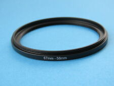 67mm to 58mm Stepping Step Down Ring Camera Lens Filter Adapter Ring 67-58mm