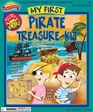 MY FIRST PIRATE TREASURE EDUCATIONAL MAKE-IT-YOURSELF KIT SCIENTIFIC EXPLORER