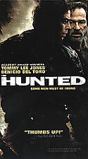 THE HUNTED (VHS, 2003, Rated R) ~ Tommy Lee Jones, Benicio Del Toro