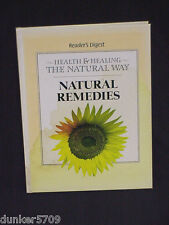NATURAL REMEDIES - HEALTH AND HEALING - READER'S DIGEST 1998 HARDCOVER