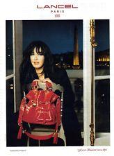 PUBLICITE 2000  Sac LANCEL Isabelle Adjani                                051111