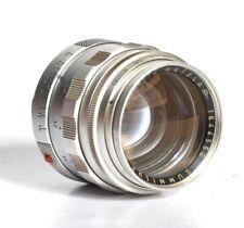 Leica Leitz 50mm F1.4 Summilux M Mount Lens # 16644550
