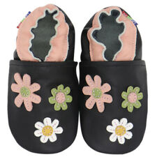 carozoo rooster hen brown 3-4y soft sole leather toddler shoes