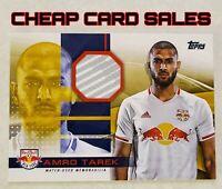 2020 Topps MLS Relic Amro Tarek - New York Red Bulls 14/50