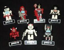 Kre-o Kreons Prowl Ironhide Wheeljack Cliffjumper minifigures Transformers