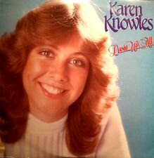 KAREN KNOWLES LP LOVES US ALL AUSTRALIAN ISSUE