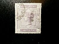 GB~1883~ QV~2/6d ~Lilac~Fine Used, cat £160~SG178~~uk seller
