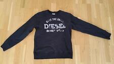 Jungen Diesel Pulloversweater hoodie Applikation XL Jungen oder Männer XS S