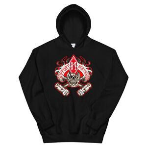 01 Hells Angels Northside Hoodie Support 81 Big Red Machine