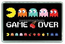 Game Over Pacman Video Game - Quality Photo Fridge Magnet 3'' x 2''