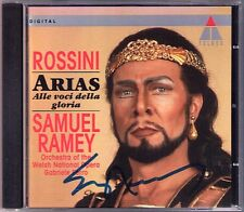 Samuel RAMEY Signiert ROSSINI ARIAS Gabriele FERRO CD La Cenerentola Semiramide