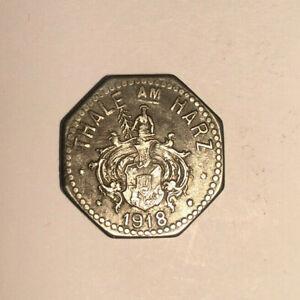 Münze Weltkriegsgeld Thale am Harz 1918 10 PfG. Dt. Reich