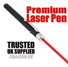 Red Laser Pointer Pen Light High Beam Grade Ultra Bright Premium 1mW Lazer UK