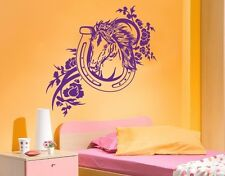 Horse Shoe - Highest Quality Wall Decal Stickers