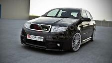 FRONT SPLITTER (GLOSS BLACK) FOR SKODA FABIA MK1 RS (2003-2007)