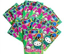 HELLO KITTY SMALL COLOURING BOOKLETS PARTY LOOT BAG FILLERS - PACK OF 10