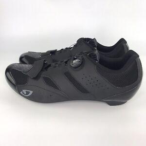 GIRO Savix HV + BOA Black Road Cycling Shoes Mens Sz 14.5 US, EU 49
