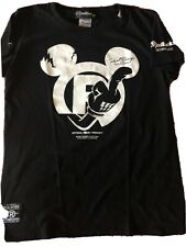 Official REALBVOICE International Mickey Surf Tee Women Size Med