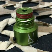 New Ninja Tank Regulator Bonnet - Aluminum (Ball Valve) - Sour Apple