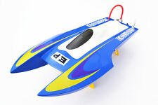M440 Kit Well Painted FiberGlass Rc Racing Boat Hull Only for Advanced Player Bu
