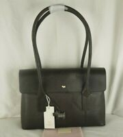 Radley Chatsworth Specials Brown Mock Lizard Leather Shoulder Work Bag New
