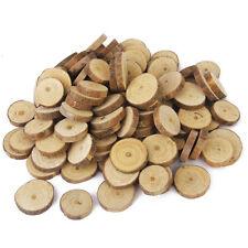 100 Rustic Natural Round Wood Pine Tree Slice Disc Wedding Centerpiece Decor