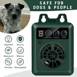 Anti-Dog Barking Device  Dog Bark Deterrent  4 Frequency Ultrasonic Stop Barking