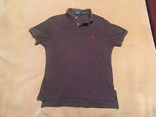 Mens Ralph Lauren Polo Shirt Grey Size Small Good Condition Plenty Life In It