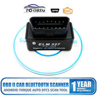 XTRONS ELM327 OBD2 II Car Bluetooth Scanner Android Torque Auto DTCs Scan Tool