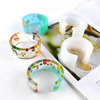 C-Shape Open Bracelet Mold Jewelry Making DIY Resin Epoxy Craft Mould Novelty
