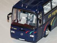 Mercedes O303 Bus 1981 en vogue dunkel blau 1:43  Minichamps 439036081 neu & OVP