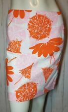 Lilly Pulitzer Women's Daisy and Umbrella Print Skirt size 4