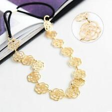GOLD PLATED FLOWER HAIR ACCESSORY OR NECKLACE - GIFT BAG - FREE P&P........W0320