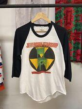 VTG Jefferson Starship 1984 Nuclear Furniture Raglan Baseball Tee Shirt