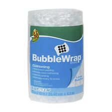 Bubble Wrap Cushioning, Large Bubbles, 12 Inches x 15 Feet, Single Roll
