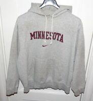 Vintage Nike Minnesota Golden Gophers Hoodie Men's XL Grey