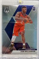 Zion Williamson Rookie Card Short Print Mosaic #209 Photo Variation Pelicans RC