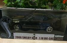 2006 Shelby GT-H 1:18 Die Cast Metal Cobra 40th Ann Hertz Special Edition
