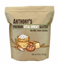 Vital Wheat Gluten 4 lb High in Protein Vegan Non GMO Keto Friendly Low Carb