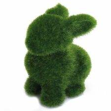 Grass Creative Handicraft Animal Rabbit w/ Artificial Turf Skin BT