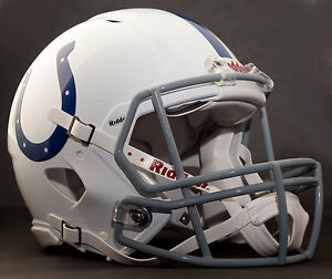 ANDREW LUCK Edition INDIANAPOLIS COLTS NFL Riddell SPEED Football Helmet
