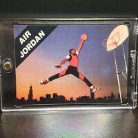 1990 Michael Jordan Nike Air Promo Iconic Nike Card HOF Bulls