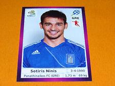 99 NINIS HELLAS GRECE FOOTBALL PANINI UEFA EURO 2012